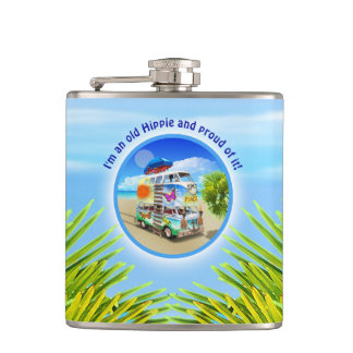 Double Groovy Flask