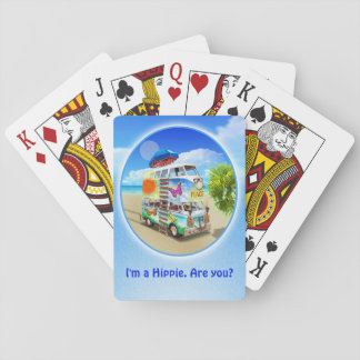 Double Groovy Playing Cards