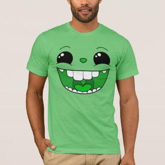 Double Happy Green Face Men's T-Shirt