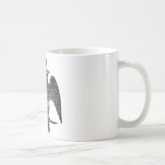 Double-headed eagle coffee mug