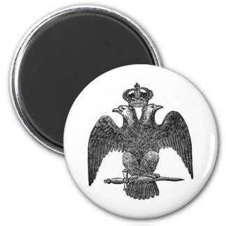 Double-headed eagle magnet