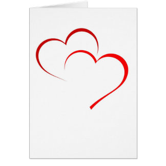 Double Heart Card