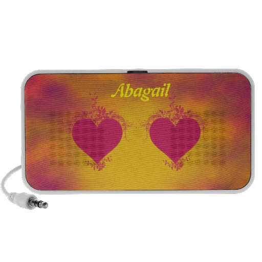Double Hearts Mp3 Speakers
