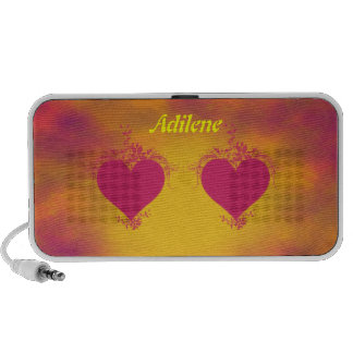 Double Hearts Portable Speakers