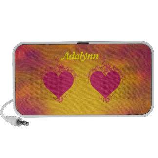 Double Hearts Mp3 Speaker