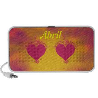 Double Hearts Notebook Speaker