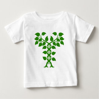 Double Helix DNA Plant Concept Baby T-Shirt