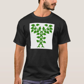 Double Helix DNA Plant Concept T-Shirt
