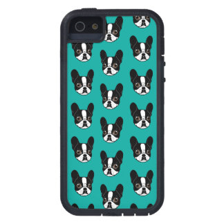Double Hooded Pied French Bulldog Puppy Case For iPhone 5