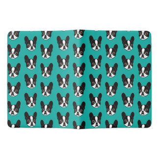 Double Hooded Pied French Bulldog Puppy Extra Large Moleskine Notebook