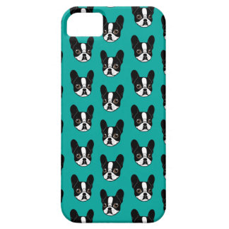 Double Hooded Pied French Bulldog Puppy iPhone 5 Cases