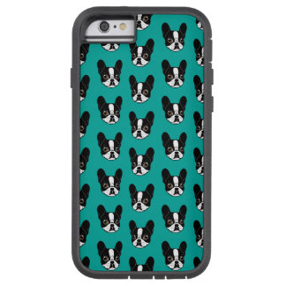 Double Hooded Pied French Bulldog Puppy Tough Xtreme iPhone 6 Case