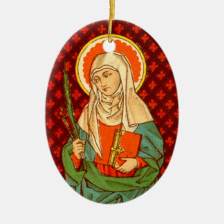 Double Image St. Apollonia (VVP 001) Ceramic Ornament