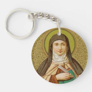 Double Image St. Teresa of Avila (SNV 27) Key Ring