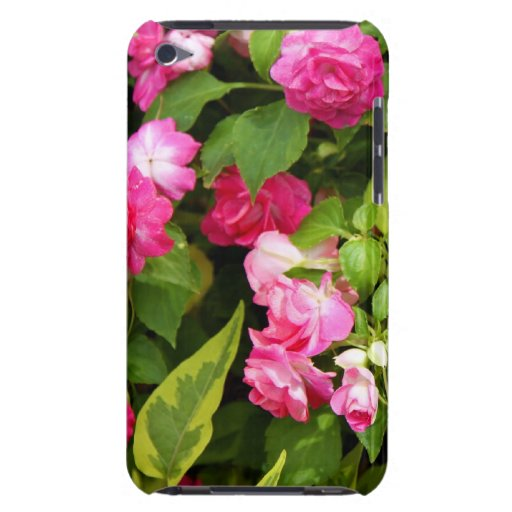 Double Impatiens Case-Mate iPod Touch Barely There iPod Touch Case-Mate Case