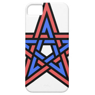 Double-interlaced-pentagram Case For The iPhone 5