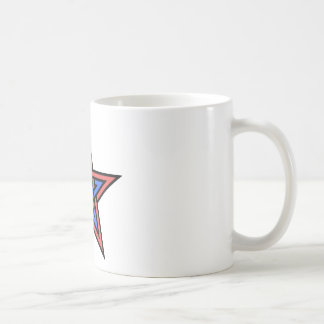 Double-interlaced-pentagram Coffee Mug