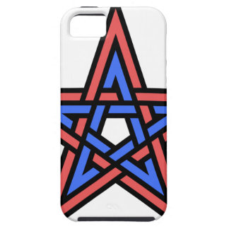Double-interlaced-pentagram iPhone 5 Covers
