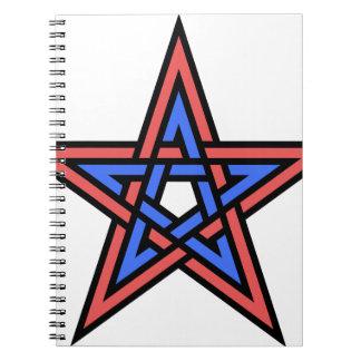 Double-interlaced-pentagram Notebooks