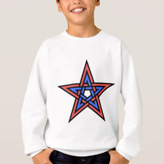 Double-interlaced-pentagram Sweatshirt