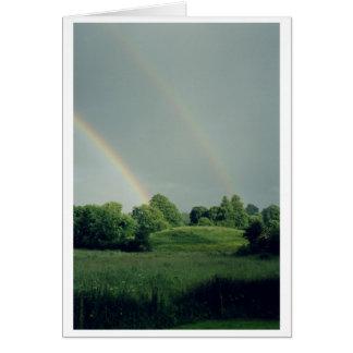 Double Irish Rainbow Card