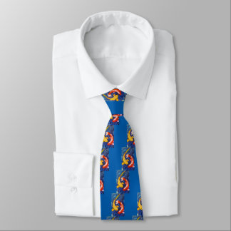 Double Koi Fish Tie