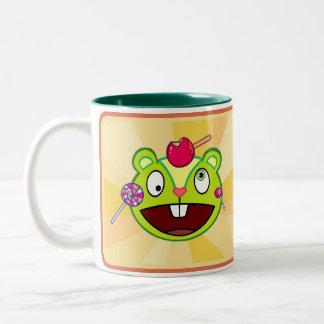 Double Nutty Two-Tone Coffee Mug
