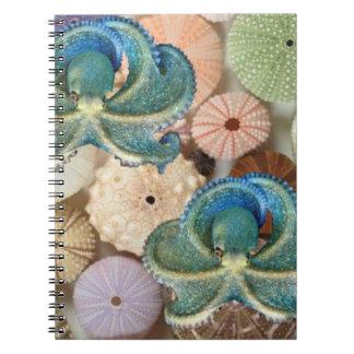 Double Octopus Spiral Photo Album Notebooks