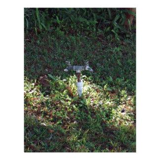 Double outlet water spigot 21.5 cm x 28 cm flyer