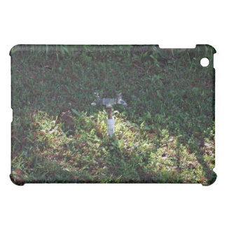 Double outlet water spigot iPad mini covers