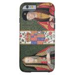 Double portrait of Elizabeth of York (1465-1503) a Tough iPhone 6 Case