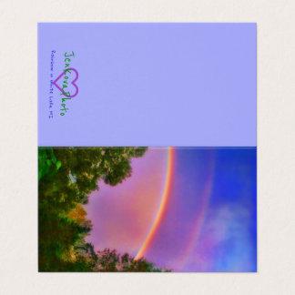 DOUBLE RAINBOW 2x3.5 MINI CARD