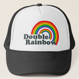 Double Rainbow (Accessories) Trucker Hat
