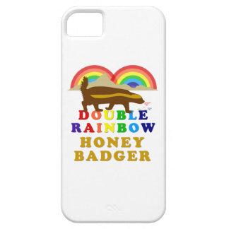 Double Rainbow Honey Badger iPhone 5 Cover