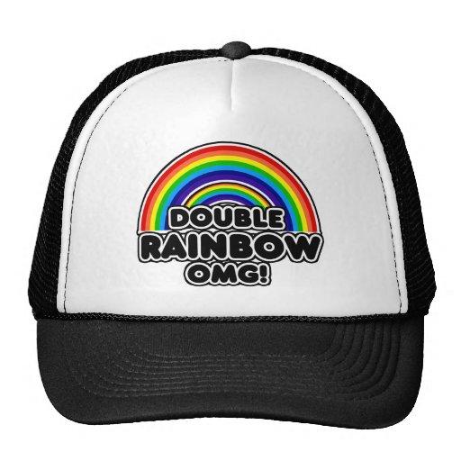 Double Rainbow OMG so intense Hats