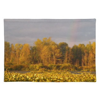Double Rainbow Pond Placemat