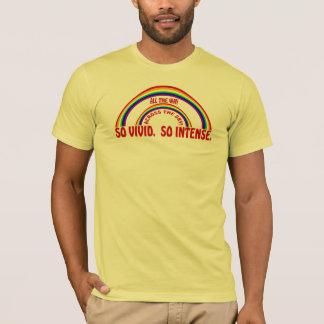 DOUBLE RAINBOW - SO VIVID SO INTENSE T-Shirt