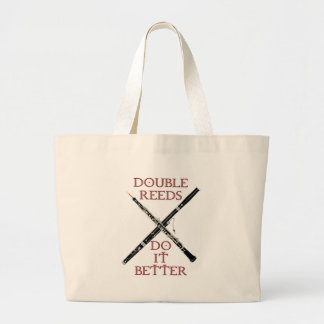 Double Reeds Canvas Bags