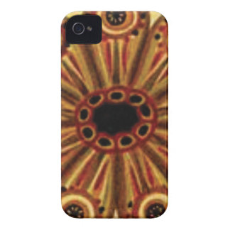double rings of circles Case-Mate iPhone 4 case