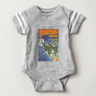 Double Rocket Baby Bodysuit