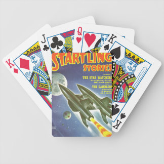Double Rocket Bicycle Playing Cards