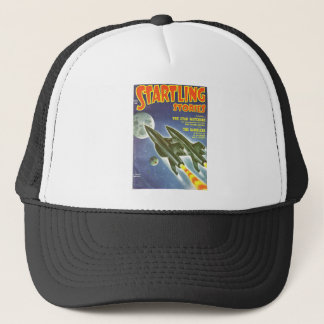 Double Rocket Trucker Hat