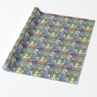 Double Rocket Wrapping Paper