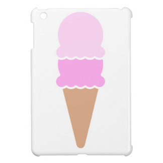 Double Scoop Ice Cream Cone - Pinks Case For The iPad Mini