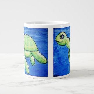 Double Sea Turtle Jumbo Mug