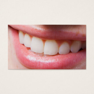 Double Side Dentist Appointment Business Card