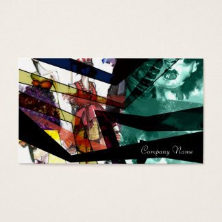 double sided colorful fasion card