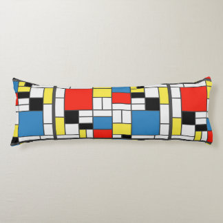 Double-sided De Stijl Body Cushion