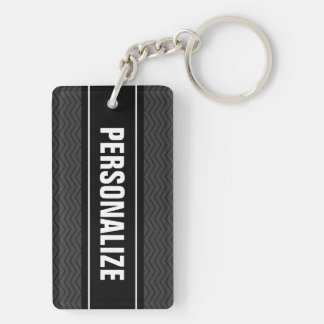 Double sided keychain | Personalize two sides