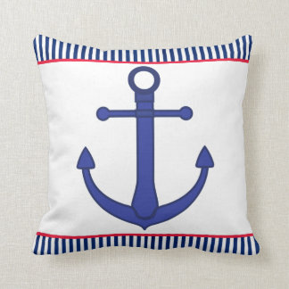 Double Sided Nautical Pillow